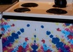 send you an awesome tie dyed kitchen towel