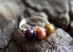 make you a lovely sterling silver multi Pearl ring