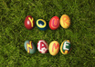 write your name or text on Easter Eggs