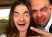 turn your face into a Mr Bean face