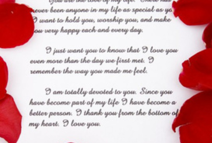 romantic love note how to write love poetry