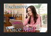 record a professional female voicemail or voice directory for a Fiverr
