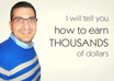 tell you how to earn THOUSANDS of dollars with your website