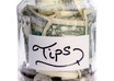 accept a tip for my work or charity organization