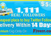 add 1111 twitter real active permanent top quality followers to your profile