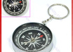 sell you Compass Camping Hiking Hunting Key Chain Ring Survival compass