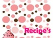 create cute recipe pages for your recipes
