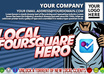 change anything you want on one Local Foursquare Hero Infographics from James Tudsbury