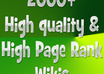 submit 2000+ contextual backlinks of your website to high ranking wikis