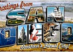 send you a postcard from the beautiful beaches of San Diego, California