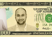 put your face on a 100 dollar bill or 1, 500, 10,000, or 1million