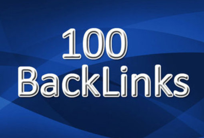 create 100 backlinks on authority sites and increase your serp