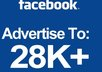 share your advertisement on my 26k plus usa uk ca targeted fanpages small1