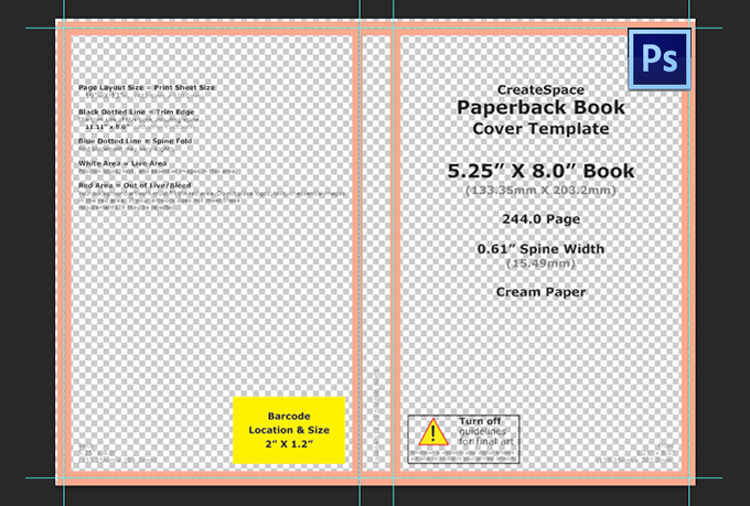 Create You A Custom Photoshop Template To Design Your Createspace Book