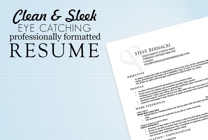 microsfot word resume template