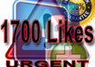 give you urgently 2000 FACEBOOK likes fans to any page in less then 6 hours
