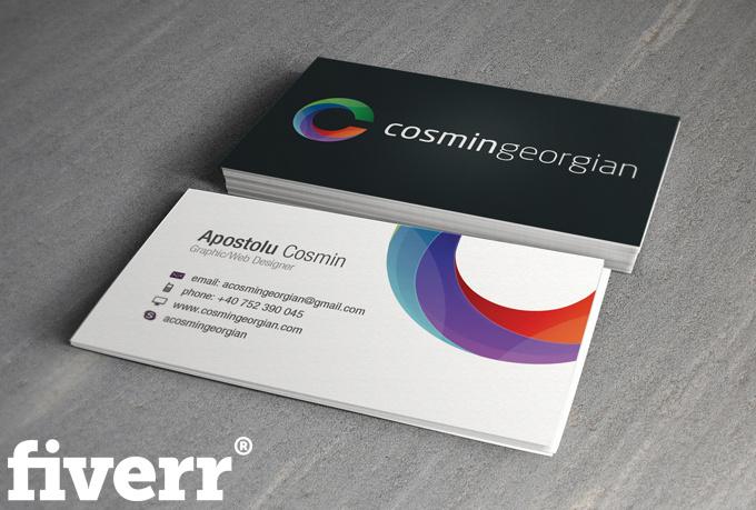 design a KILLER unique double sided business card