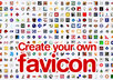 create a favicon for you and if you have a WordPress site I will install it small1