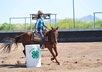 give you an image of my daughter barrel racing around your message