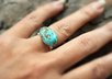 make you a sterling silver Turquoise ring small1