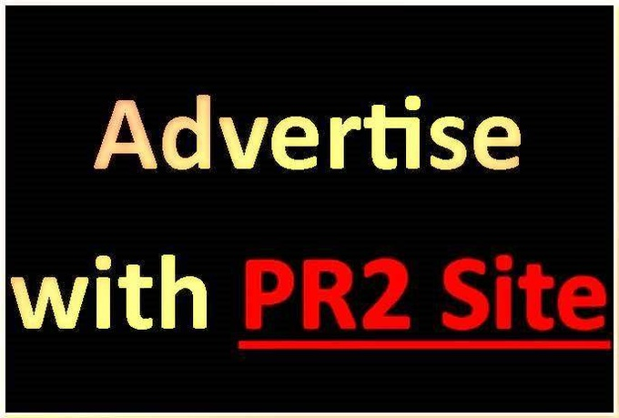 advertise your 336 x 280 banner on my PR2 site for 40 days