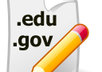 provide a list of 100 dot edu and dot gov blogs with open comments in 1 list small1