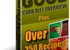give you over 350 low carb diet recipes