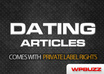 send you 1000 dating articles with private label rights included
