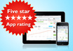 review and rate your iphone/ipad app 5 stars