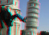 turn your 2D picture into 3D with use of anaglyph red and blue glasses