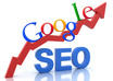 create an in depth 63 page SEO report on how to get your site on the first page of Google for a specific keyword or phrase