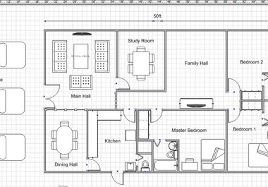 draw a simple floor plan for your dream house - fiverr