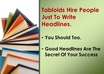 write 5 headlines for your next sales letter small1