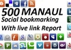social BOOKMARK your site on 1000 Social bookmarking sites with Rss and Ping Send live report of all backlinks in Excel small1