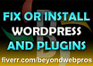 install and Configure 1 Wordpress theme or Fix 1 Wordpress Issue