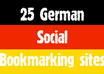 submit manually top 25 GERMAN social bookmarks links like misterwong, linkarena, huip and etc