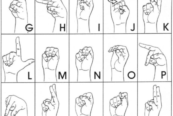 American sign language for asshole