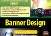 design or Redesign A Professional Banner or Website Header In Any Format As An Express Gig Delivered In Le