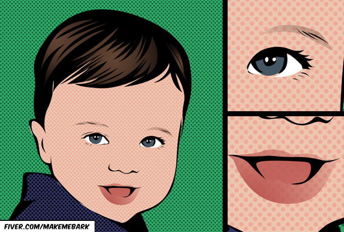 make a GOODQUALITY digital illustration of your photo