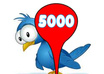 give you 5000+ real looking twitter followers without password