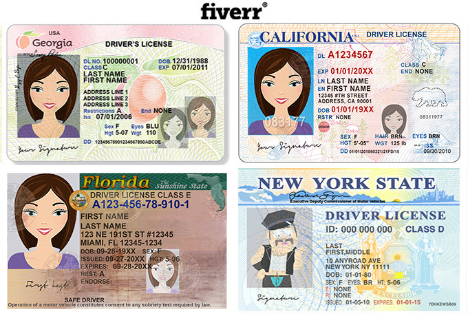 make novelty social security card, Driver License or modify document
