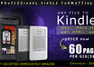 convert your any document  into kindle format, BEST Kindle Book Conversion with high quality