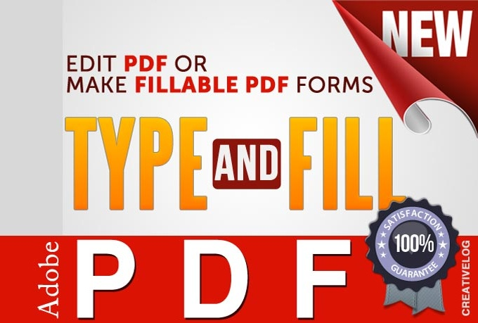make your PDF files or any document to professional fillable pdf file