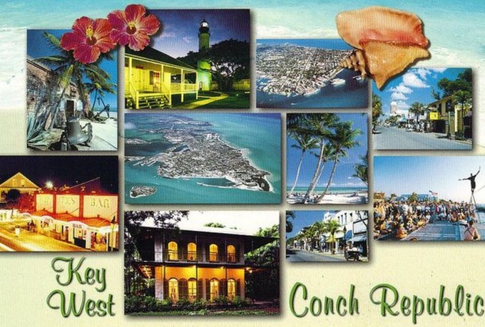 mail 2 postcards from beautiful Key West, FL This Weekend Only