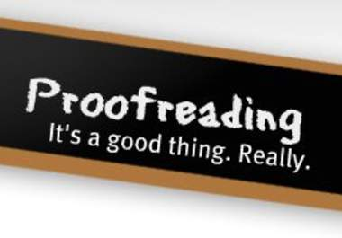 proof read essays online