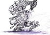 give you one of my robot sketches small1