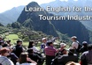 give an intensive 25 min English for Special Purposes Class, Tourism, Hotels and Hospitality, Restaurant, Healthcare, USA Visa Requirements