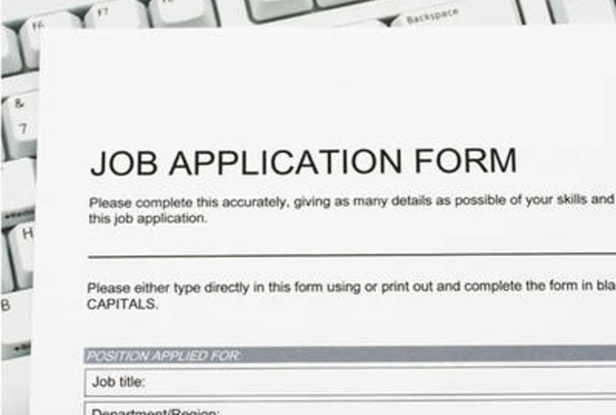 Job Application Online Fill Out