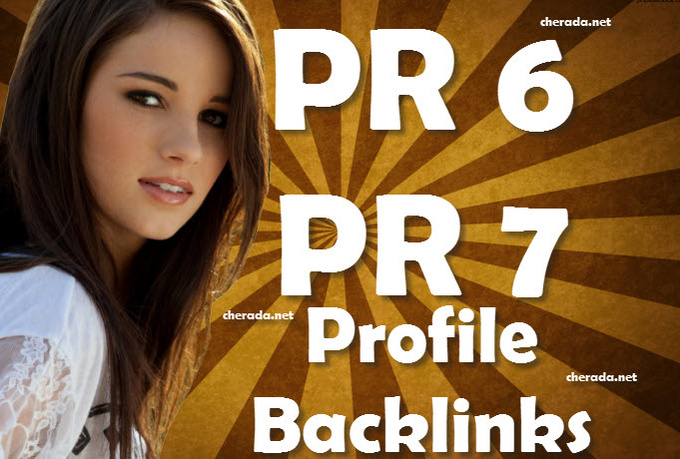 create 11 Backlinks from PR6 to PR7 Sites