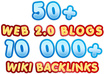 build MULTI tier link pyramid with over 50 web 2 properties and over 10000 wiki backlinks ★ Massive Pyramid ★